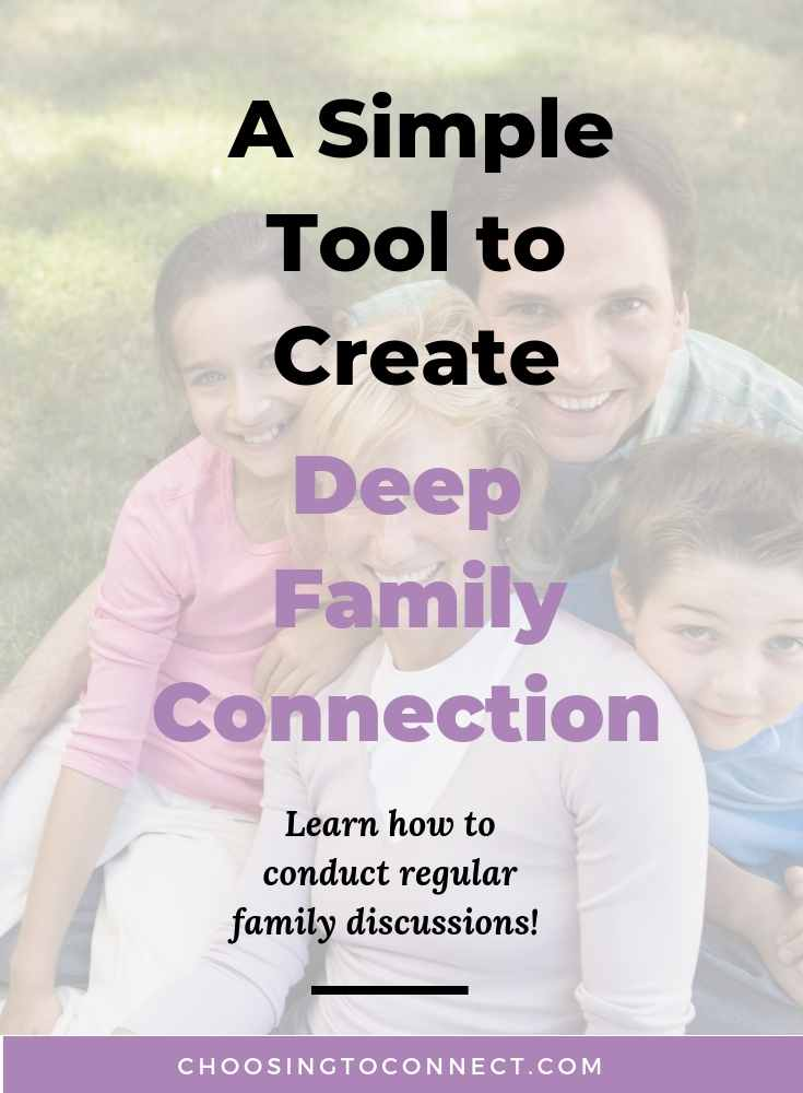 A Simple Tool to Create Deep Family Connection