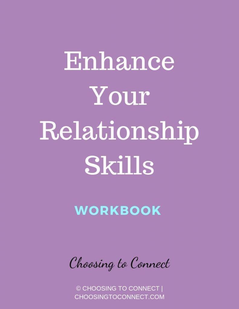 enhance you relationship skills workbook