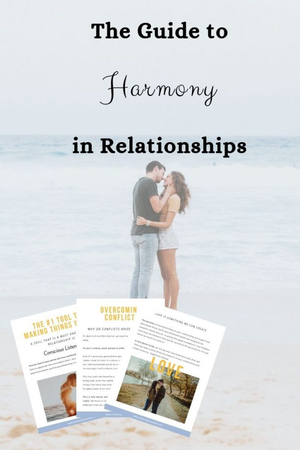 The guide to harmony in relationships