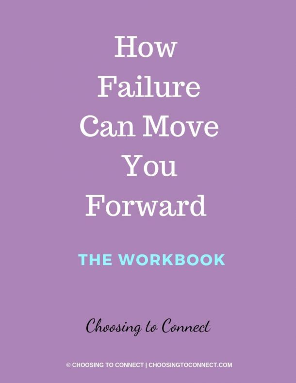how failure can move you forward workbook