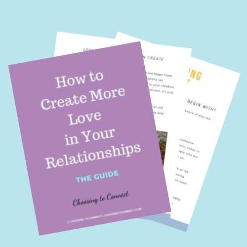 How to create more love and harmony in your relationships