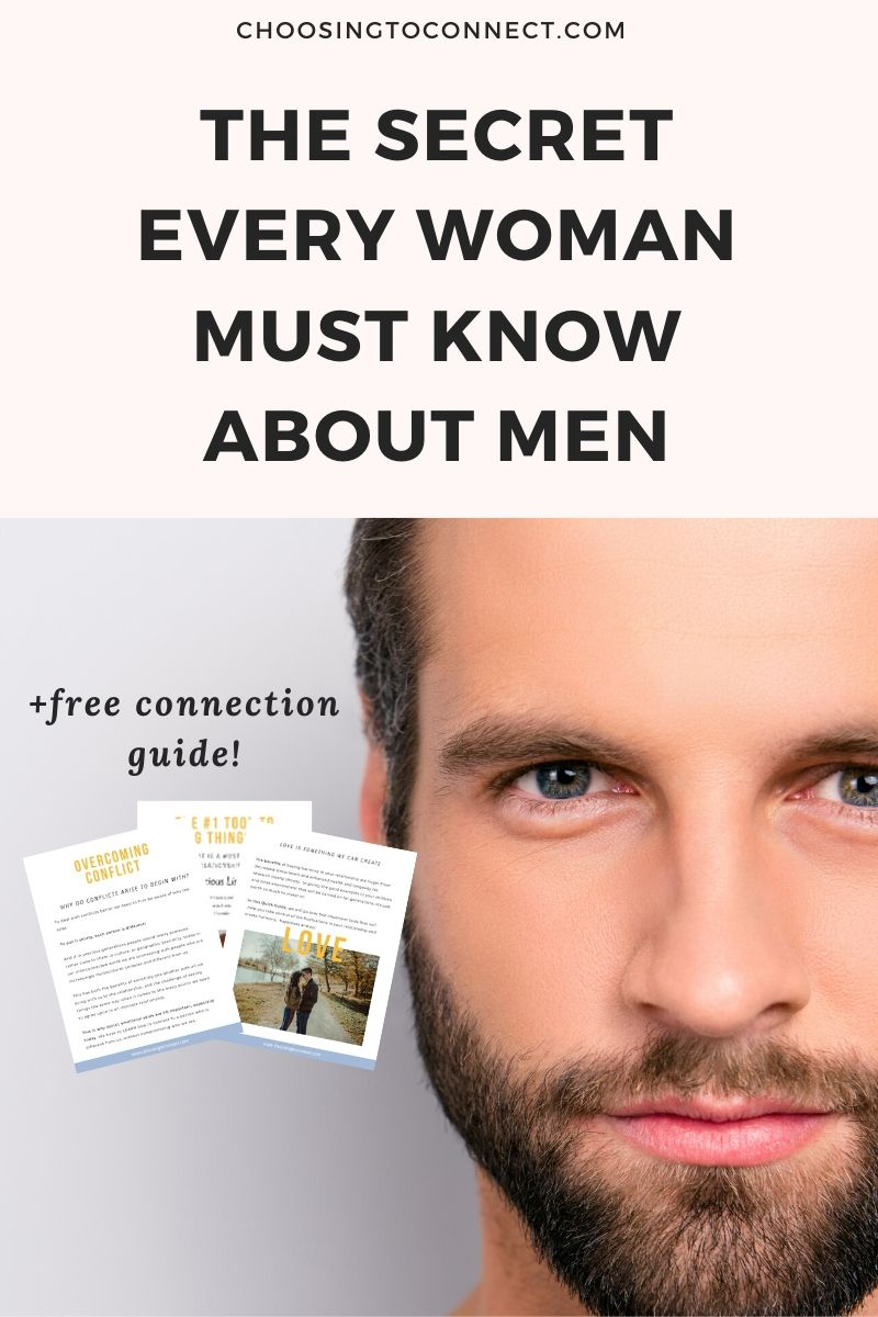 the secret every woman must know about men